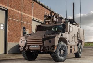 Vehicul blindat multi-rol SERVAL. Sursa Foto: Compania franceza Nexter