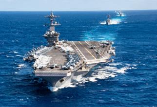 Sură foto: USS Theodore Roosevelt Facebook
