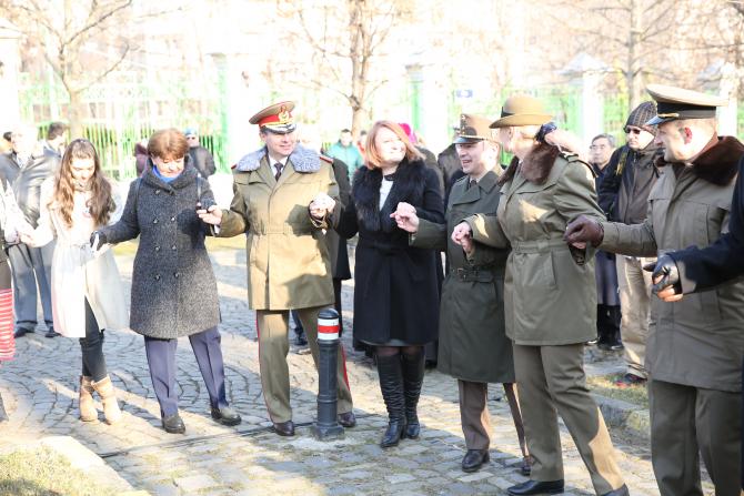 Foto: Imagine de la ceremoniile din 2020 cu prilejul Unirii Principatelor, sărbătorită pe 24 ianuarie. Sursă foto: MApN