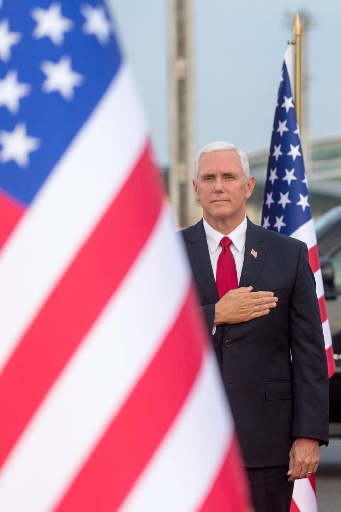 Vicepreședintele american Mike Pence Sursa foto: Facebook