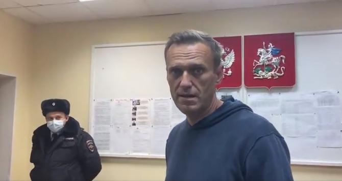 Incarcerare Aleksei Navalnîi Sursa foto: Twitter