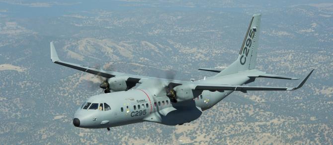 C295, sursă foto: Airbus