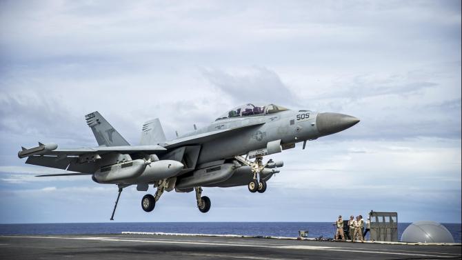 EA-18G, sursă foto: US Navy
