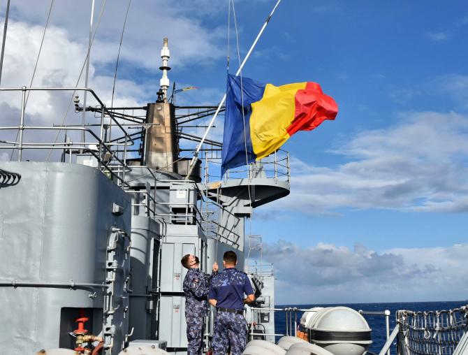 Sursă foto: Forțele Navale Române Facebook