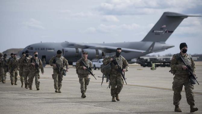 Militari Garda Nationala Sursa foto: Twitter