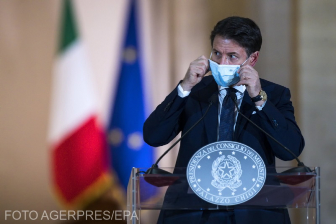 Premierul Italiei, Giuseppe Conte
