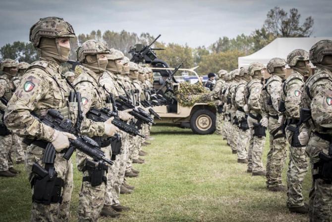 Armata italiană, sursă foto: Ministero della Difesa - Facebook