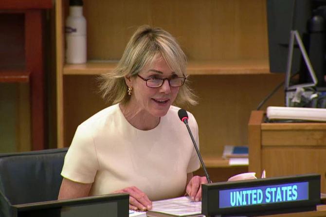 Ambasadorul SUA la ONU, Kelly Craft. Sursă foto: Twitter