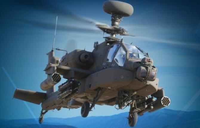 Apache, foto: Lockheed Martin / Facebook