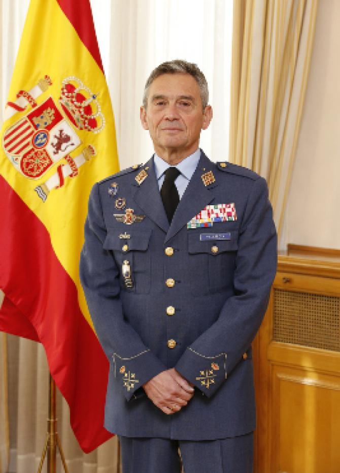 Miguel Angel Villarroya, sursă foto: Ministerul Apărării de la Madrid