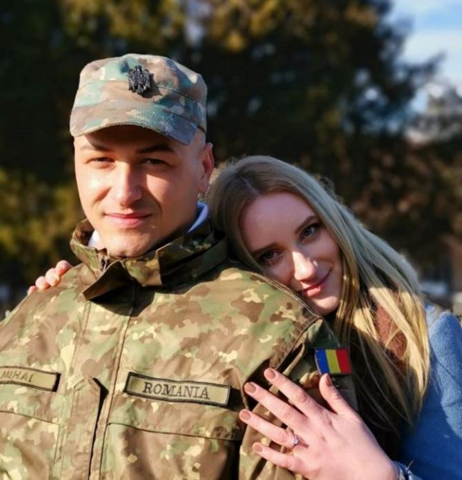 Soldatul Eminescu Mihai. Foto: Arhivă personală Eminescu Mihai via MApN Facebook