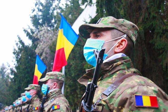 Militari români  Sursă foto: MApN Facebook, Gogu Petruț