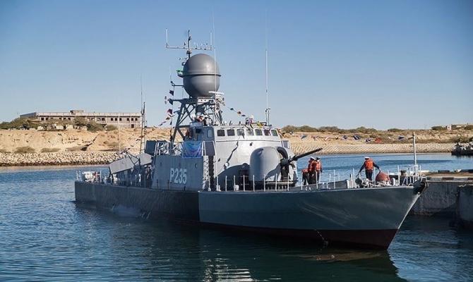 Fregata Zereh-Iran Sursa foto: Twitter