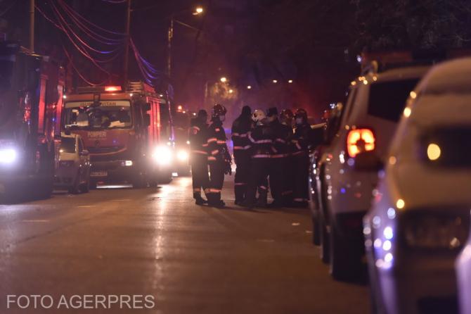 Cinci pacienți au decedat ca urmare a incendiului de la Spitalul Matei Balș din București