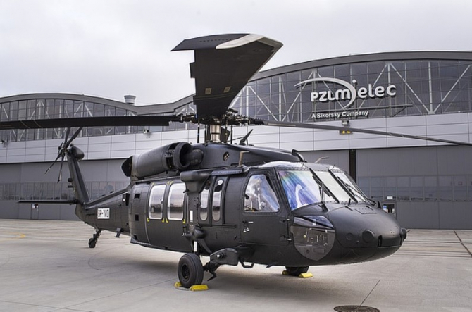 Black Hawk, sursă foto: PZL Mielec
