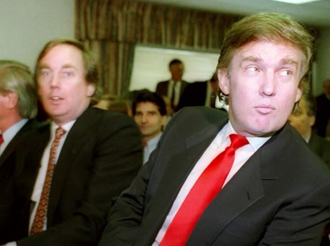 Robert și Donald Trump, sursă: GolocalProv News, YouTube via Fox