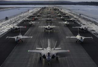 Arctic Challenge 2019  Sursa foto: US Air Force