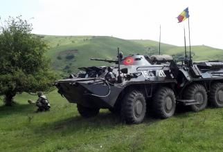 """B 33 Zimbru, sursă foto: Divizia 4 Infanterie """"Gemina"""" Facebook"""