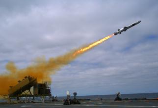 Naval Strike Missile (NSM), sursă foto: US Navy