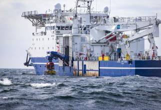 Construirea gazoductului Nord Stream 2 dintre Rusia şi Germania. Sursă foto: www.Nord-Stream2.com