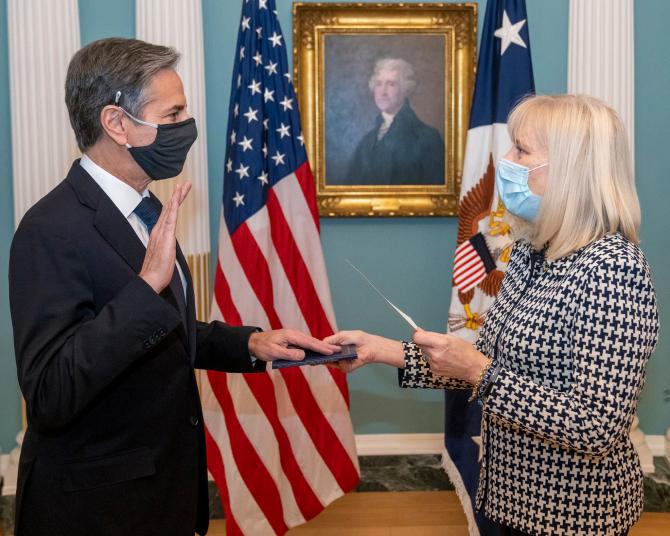 Secretarul de stat Antony Blinken, sursă foto: U.S. Department of State Facebook
