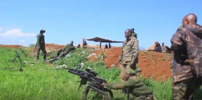 Armata congoleză, sursă foto: Captură video a unui material publicat de AfricaNews.com