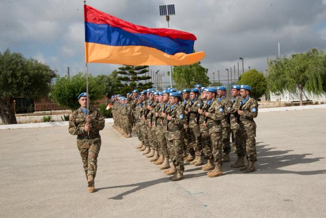 Sursă foto: Ministerul Apărării din Armenia (Facebook)