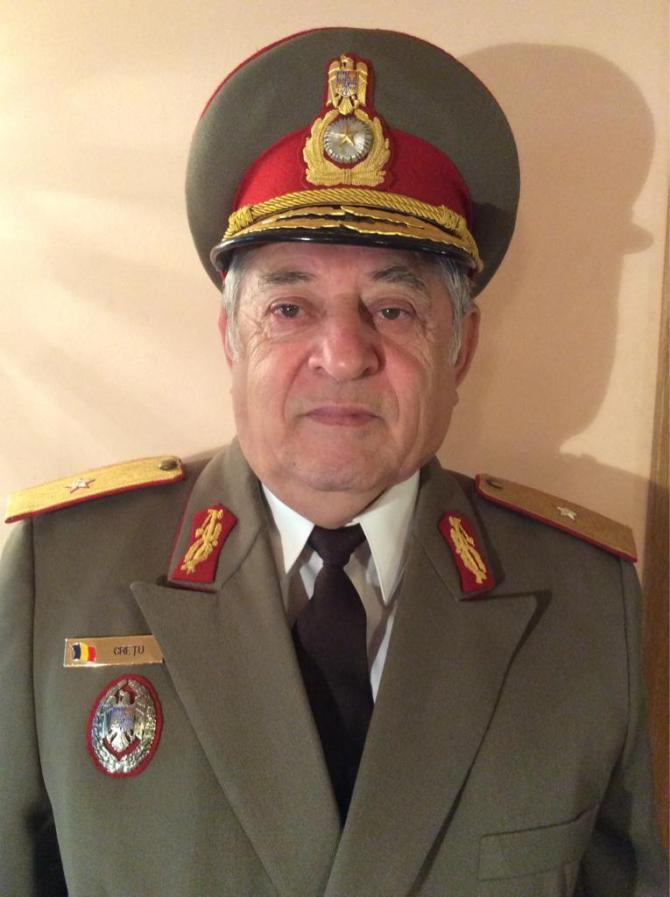 Generalul Emil Crețu sursă foto: Universitatea Titu Maiorescu