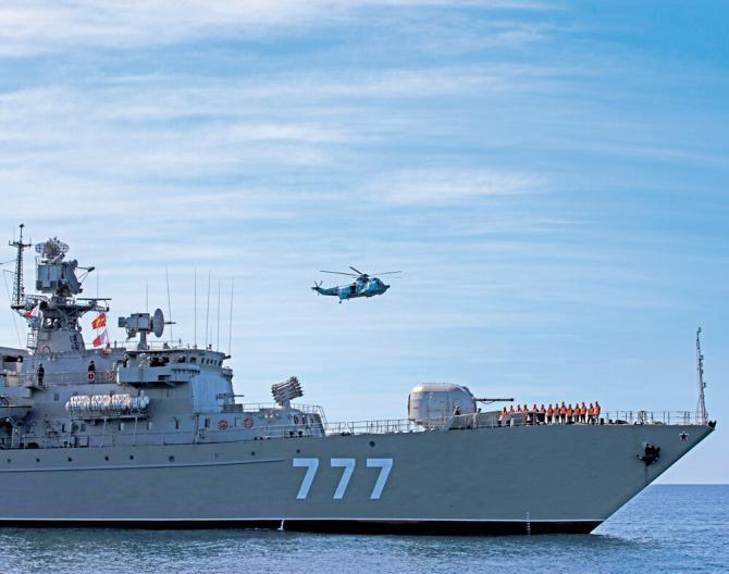 Fregata rusă Yaroslav Mudri