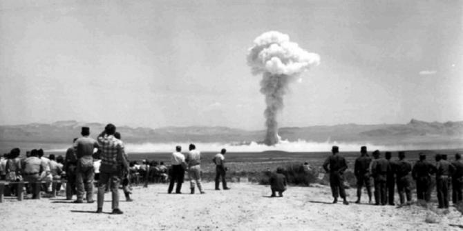 Gerboise Bleue: 1960, primul test nuclear al Franței în Algeria. Sursă foto: Wikipedia