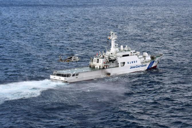 Garda de Coastă a Japoniei, sursă foto: Guvernul nipon