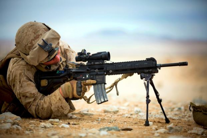 M27, sursă foto: US Marine Corps