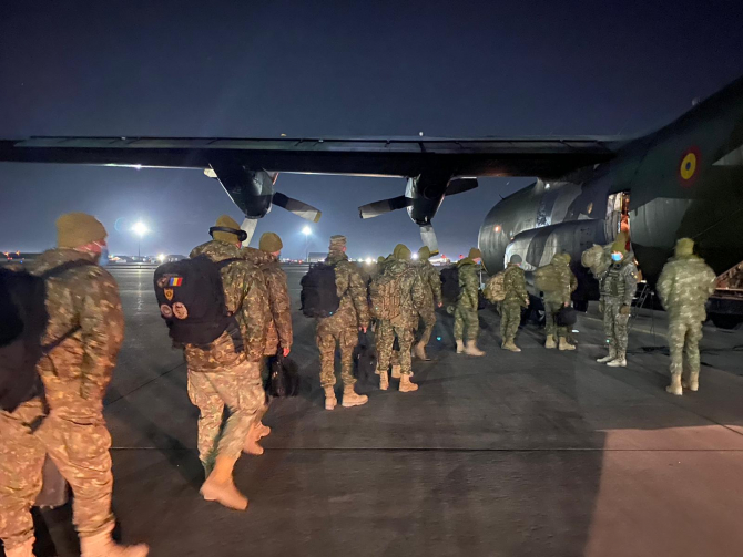 Militari Batalion Golden Lions  Sursa foto: MApN