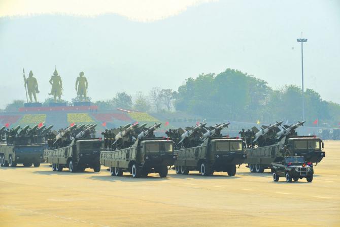 Sursă foto: Forțele Armate din Myanmar