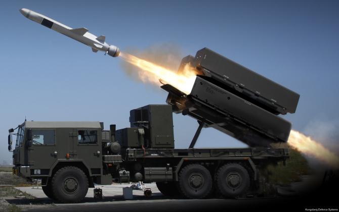 Foto: Naval Strike Missile (NSM), sursă: Kongsberg