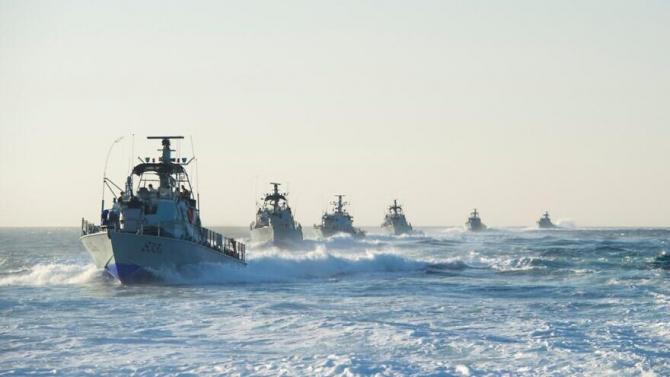 Nave de patrulare a Forțelor Navale ale Israelului. Sursă foto: IDF via Jewish News Syndicate