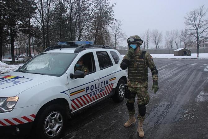 Poliția Militară, sursă foto: MApN Facebook