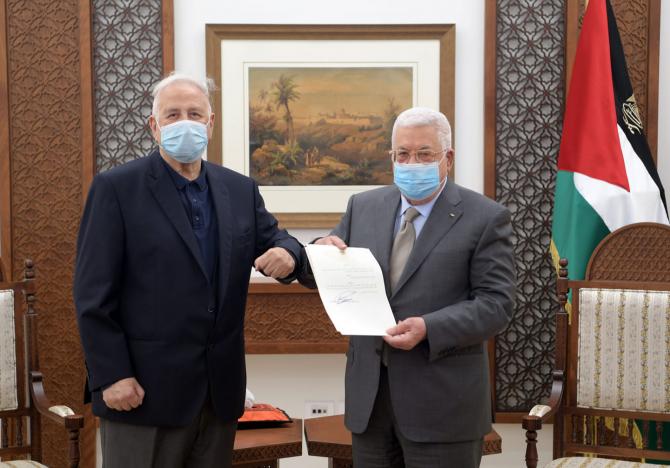 Mahmoud Abbas, presedintele Autoritatii Nationale Palestiniene  Sursa foto: Facebook Mahmoud Abbas