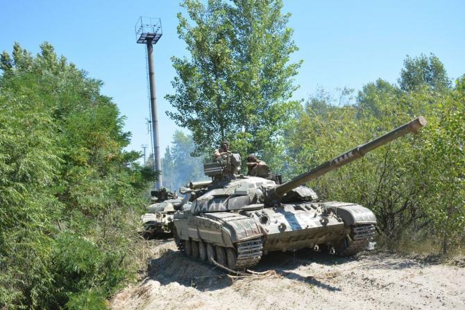 Tanc T-64 Sursa foto: Twitter