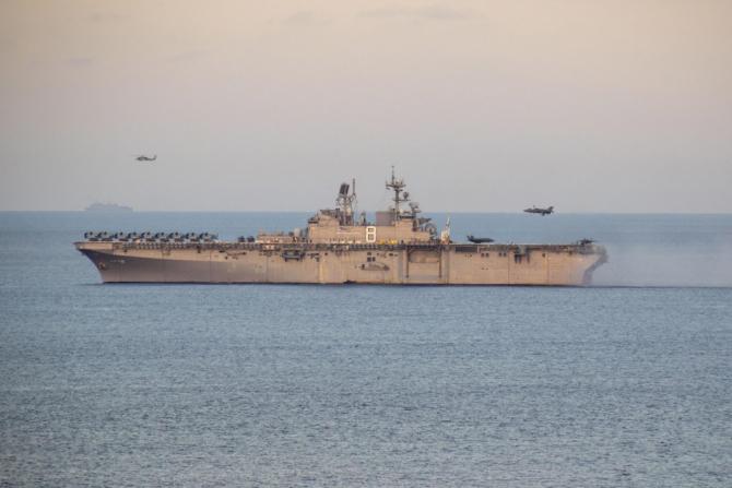 USS Makin Island  Sursa foto: Africom
