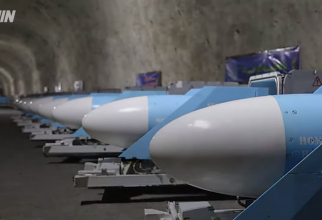 Buncar rachete Iran  Sursa foto: Captură Youtube