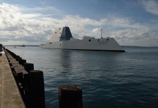 USS Zumwalt, sursă foto: US Navy