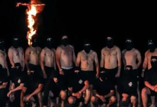Grupare extremă-dreapta Sonnenkrieg Division  Sursa foto: Twitter
