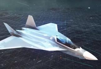 Concept al proiectului SCAF, viitorul avion european de generația a VI-a. Sursă foto: Airbus