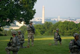 Soldați americani, în Washington DC, sursă foto: US Army