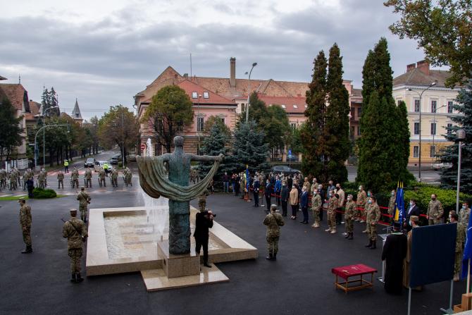 """Sursă foto: Academia Forţelor Terestre """"Nicolae Bălcescu"""" din Sibiu - Facebook"""