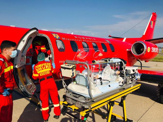 Avion SMURD Sursa foto: IGSU