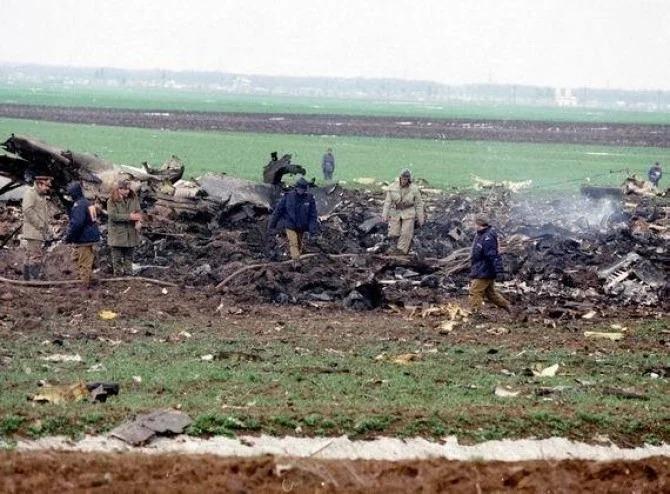 Tragedia de la Balotești: Prăbușirea Zborului 371, cea mai mare catastrofă aviatică din istoria României. Sursă foto: DC News