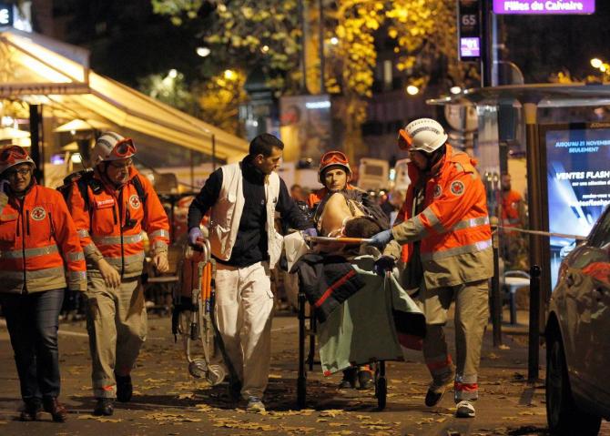 Atac terorist Bataclan  Sursa foto: Twitter