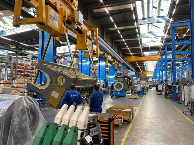 Uzina Bergen Engines din Norvegia produce motoare pentru forțele navale ale NATO  Sursa foto: Facebook